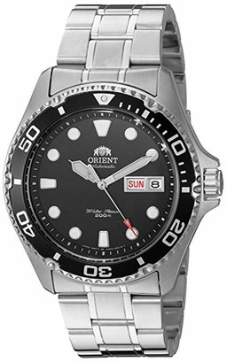 Orient Men's 'Ray II' Japanese Automatic Stainless Steel Diving Watch Color:Silver-Toned (Model: FAA02005D9)