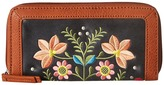 American West Maya Zip Around Wallet Wallet Handbags