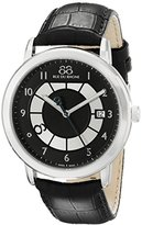 88 Rue du Rhone Men's 87WA130019 Double 8 Origin Analog Display Swiss Quartz Black Watch