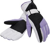 Simplicity Siplicity Woen's Thinsulate Lined Waterproof Outdoor Ski Gloves