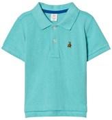 Gap Aqua Pique Polo Shirt