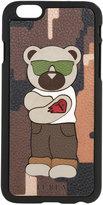 Furla bear print phone case