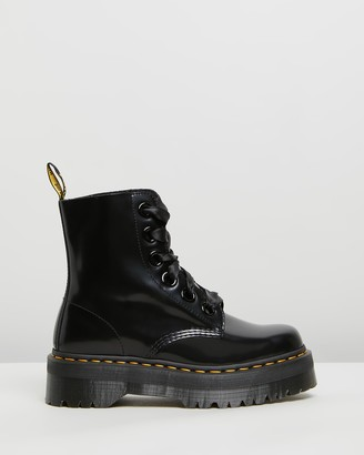 Dr. Martens Womens Molly Buttero Boots