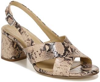 Naturalizer Leather Slingback Heeled Sandals -Azalea