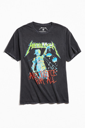 Urban Outfitters Metallica Justice For All Tee