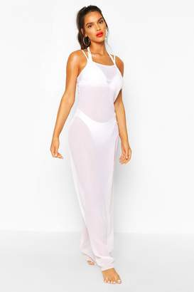 boohoo Strappy Maxi Beach Dress