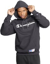 Champion Men's Retro Graphic Pullover Hoodie, Heather