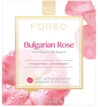 Foreo UFO Activated 6-Pack Bulgarian Rose Sheet Mask Set
