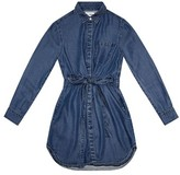 DL1961 Girl's Chambray Shirtdress