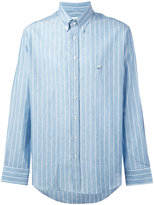 Etro long-sleeved shirt - men - Cotton/Linen/Flax - M