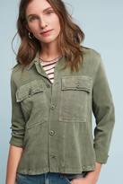 Amo Ruffle Military Jacket