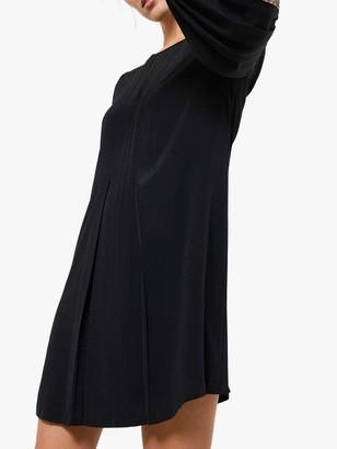Mint Velvet Sequin Mini Dress, Black