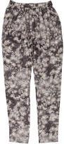 Stella McCartney Floral Print Skinny Pants