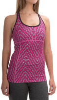 Mountain Hardwear Mighty Activa Printed Wick.Q® Tank Top - Built-In Shelf Bra (For Women)