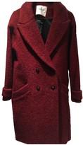 BA&SH Bash Fall Winter 2018 Burgundy Wool Coats