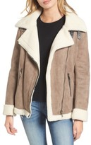 Vigoss Women's Faux Shearling Oversized Jacket