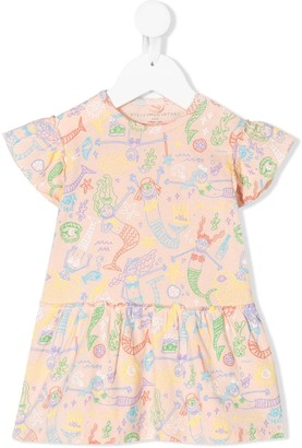 Stella McCartney Mermaid Print Dress