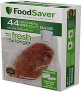 FoodSaver Pre-Cut Quart Bags (44-Pack)