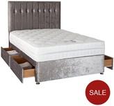 Sweet Dreams Sheba Cushed Velvet Divan Bed
