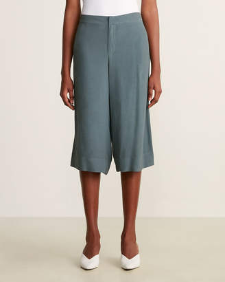 Woven Cropped Pants