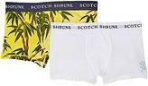 Scotch Shrunk Stretch-Cotton Jersey Boxer Brief Set