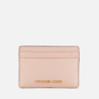 MICHAEL Michael Kors Women's Jet Set Card Holder - Soft Pink