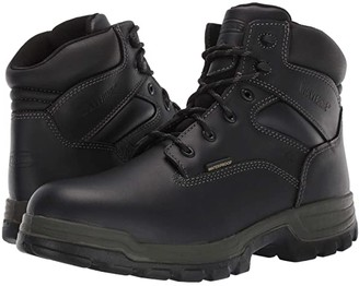 Wolverine Stratus Waterproof 6 Soft Toe Boot (Black) Men's Work Boots