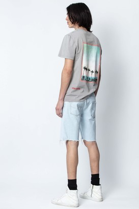 Zadig & Voltaire Ted Peace Photoprint T-shirt