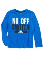 adidas Boy's No Off Switch Graphic T-Shirt