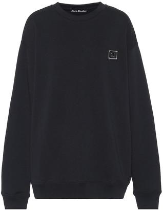 Acne Studios Face oversized cotton sweatshirt