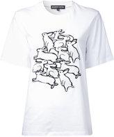 Markus Lupfer rabbits print T-shirt