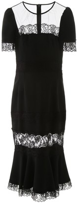 Dolce & Gabbana Lace Detail Dress