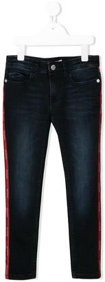 Calvin Klein Kids logo tape jeans