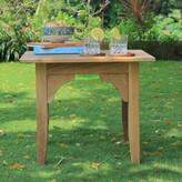 Birch Lane Summerton Teak Side Table Heritage Color: Natural Teak