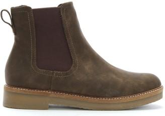 Df By Daniel Sorbie Brown Crepe Sole Chelsea Boots