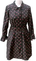 Prada Black Polyester Trench coat
