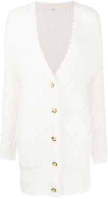 R 13 Long-Line Style Cardigan