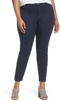 Eileen Fisher Plus Size Women's Organic Cotton Blend Skinny Jeans