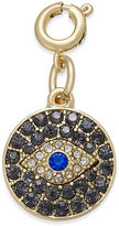 INC International Concepts Gold-Tone Crystal Eye Charm, Only at Macy's