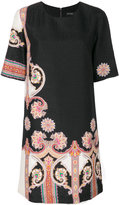 Etro patterned shift dress - women - Silk/Polyester - 42