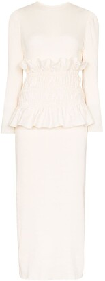 Johanna Ortiz Enlightened Moments midi dress