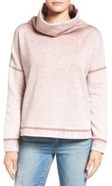 Caslon Funnel Neck Pullover (Regular & Petite)