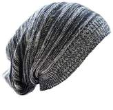 Honeystore Unisex Knitted Slouchy Beanie Wool Ski Warm Colorful Baggy Cap Hats