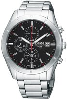 Pulsar Steel Chronograph Bracelet Dial Men's Watch #PF8331