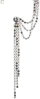 MM6 MAISON MARGIELA Crystal Chain Earrings