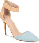 Charles by Charles David Pointer Two-Piece Pumps