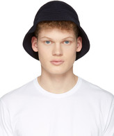 Comme des Garcons Navy Bucket Hat