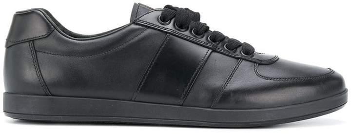Prada side panel sneakers