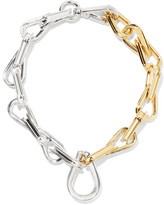 Annelise Michelson Ellipse Gold And Silver-plated Choker - one size