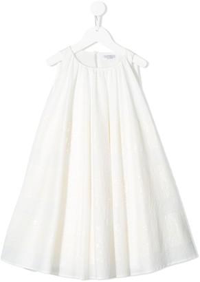 BRUNELLO CUCINELLI KIDS Sequin-Embellished Dress